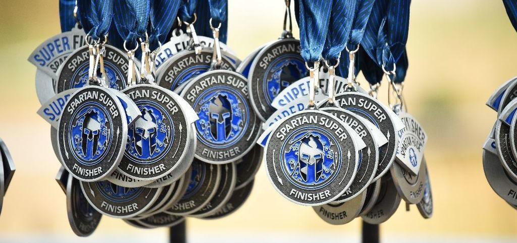 Médaille Spartan Super