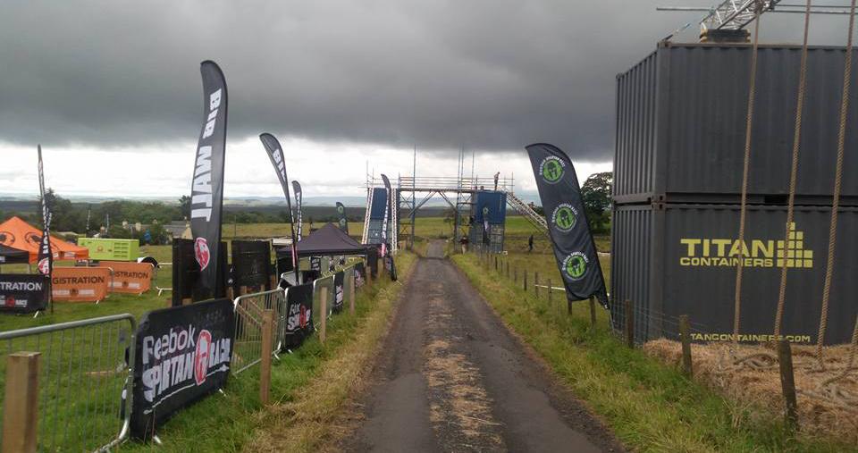 Championnats d'Europe 2016 Spartan Race à Édimbourg