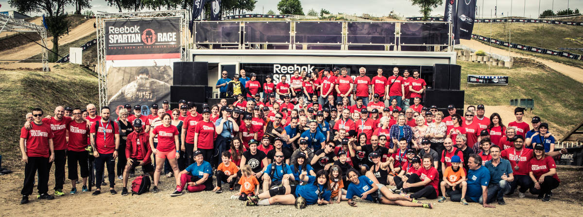 Volontaires Spartan Race
