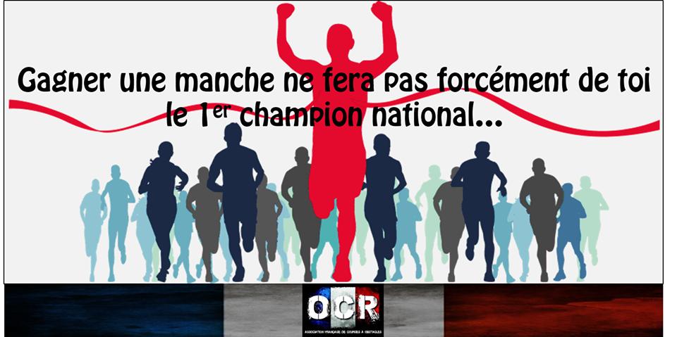 Manches Championnat de France OCR 2017