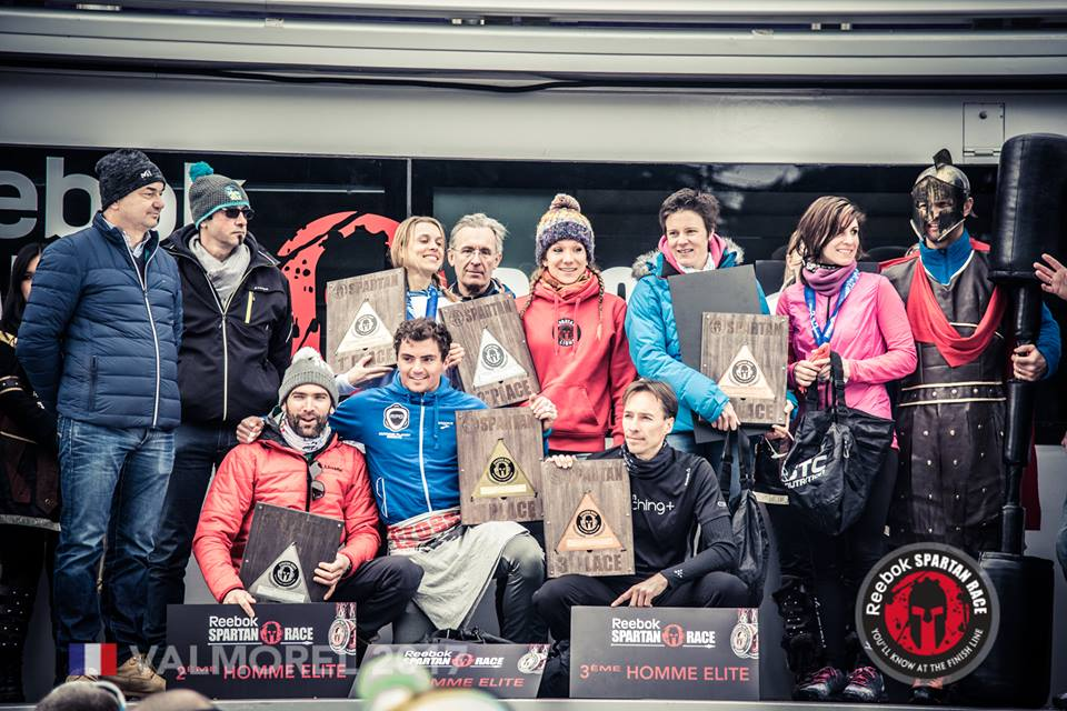 Podium Spartan Race Valmorel 2017