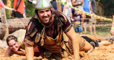 Course d'obstacle Devil Ride à Doullens (Somme)